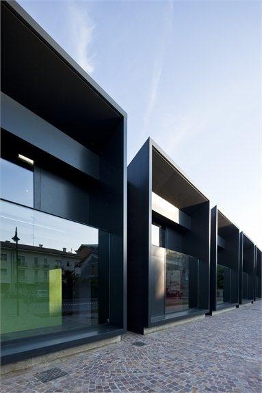 Casa della Musica - Cervignano del Friuli, Italy - 2011 - Piero Zucchi #architecture #music