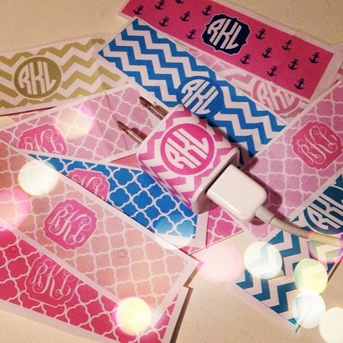 Monograms for everything!