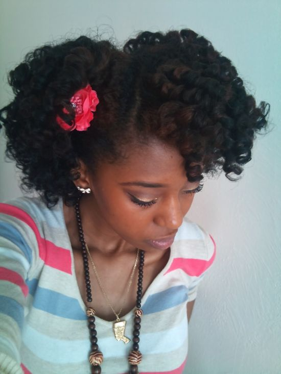 lovely #naturalhair #hairstyle