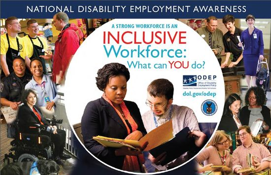 National Disability Employment Awareness Month 2012 Poster