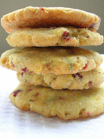 Cranberry Orange cookies::