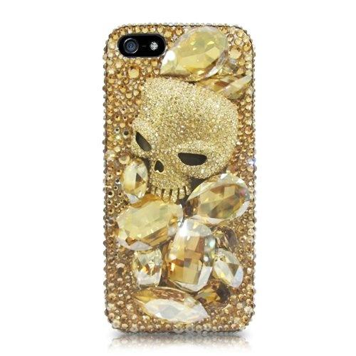 Dracula Skull Swarovski Crystal iPhone 5 Cases