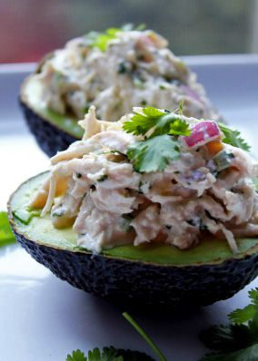 Cilantro Lime Chicken Salad... OMG I'm obsessed with cilantro!