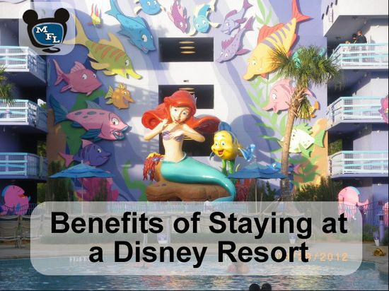 Benefits of Staying at a Walt Disney World Resort #DisneyVacation