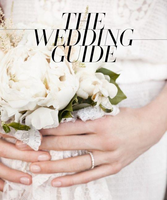 The Wedding Guide 2013 - Guides www.vogue.com/...