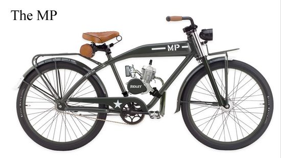 Ridley Vintage Motorbikes : Models :: The MP