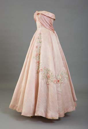 Evening Dress, 1950s