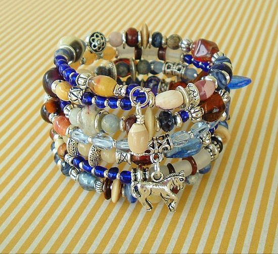 Boho Southwest Bracelet Cowgirl Southwest Jewelry by BohoStyleMe