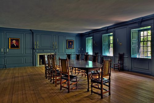 Blue Room - Wren Building - William & Mary - Williamsburg
