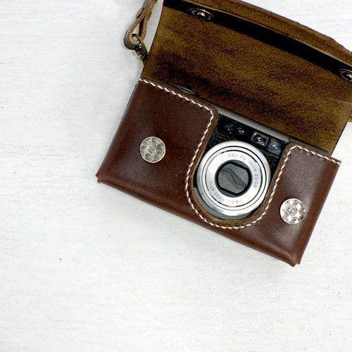 little leather digicam case