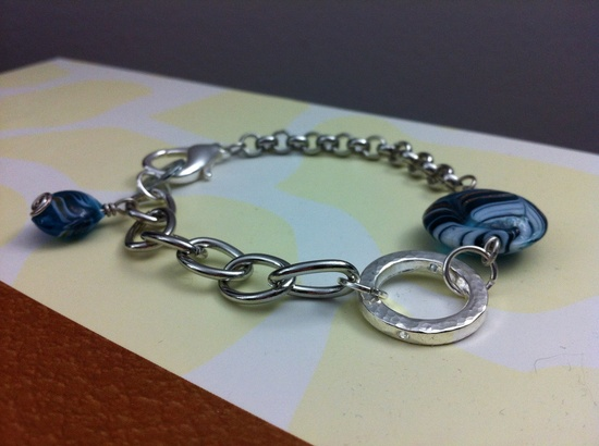 Sea Breeze Bracelet. $35.00, via Etsy.