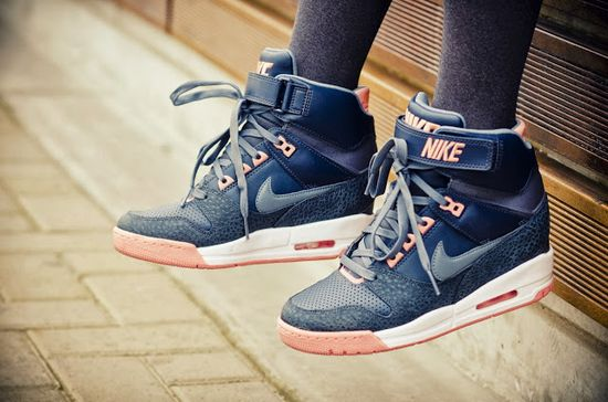 #Nike #JustDoIt #WedgeSneakers #Fashion #shoes