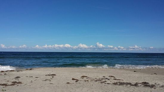 Beautiful beach day