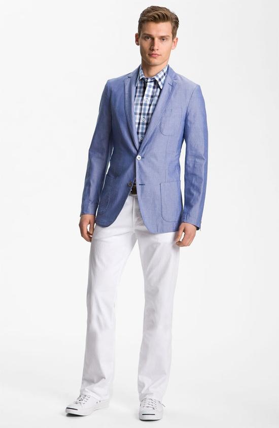 Zachary Prell Sportcoat & AG Jeans #Nordstrom