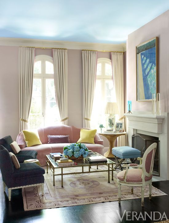 Mix and Chic - Chicago townhouse living room - Ruthie Sommers Design