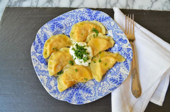 Smell of Rosemary- a blog about great food.: Pierogi with Potatoes and Sharp Cheddar
