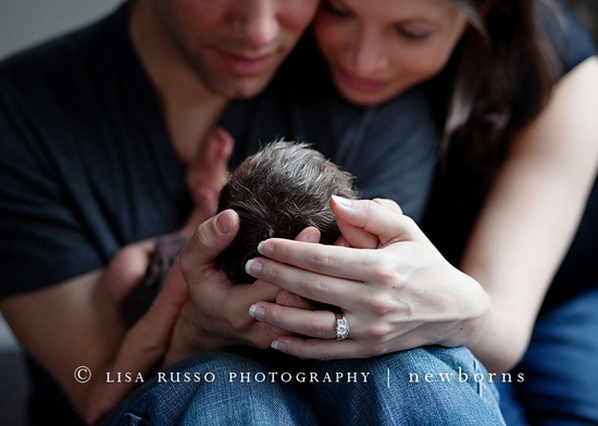 lovely perspective for a newborn shot
