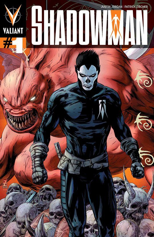 Shadowman Comic Book Cover