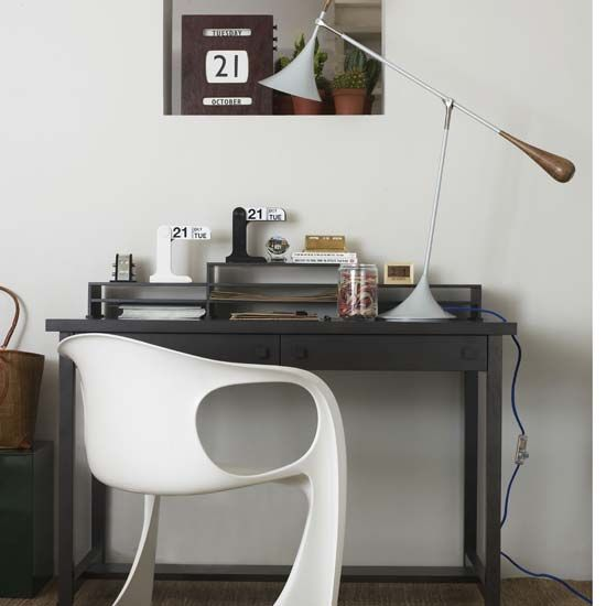 desk, via Living etc, Oct 2008