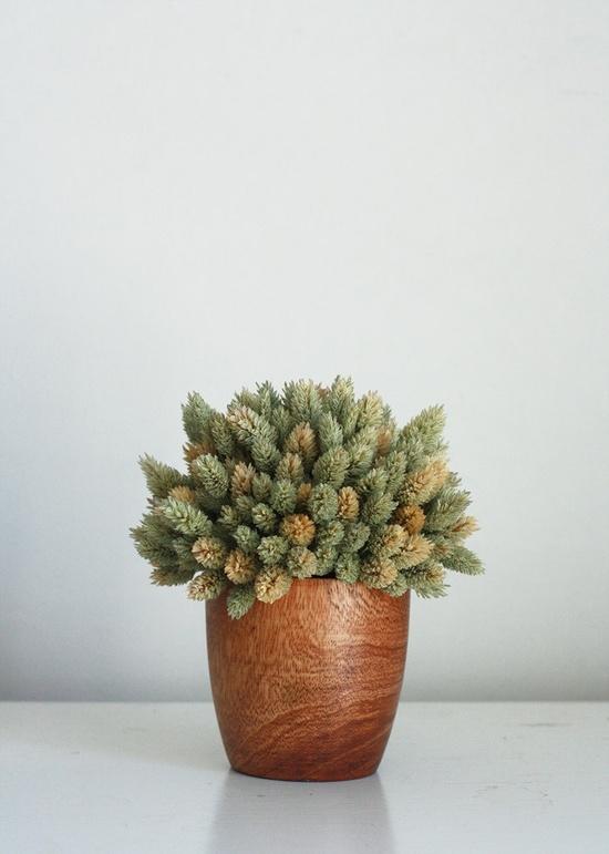 modern farmhouse arrangement - dried flower arrangement from Flores Del sol