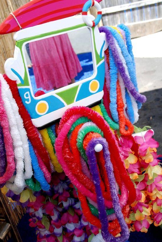 Luau + Surf themed birthday party FULL of ideas! Via Kara's Party Ideas