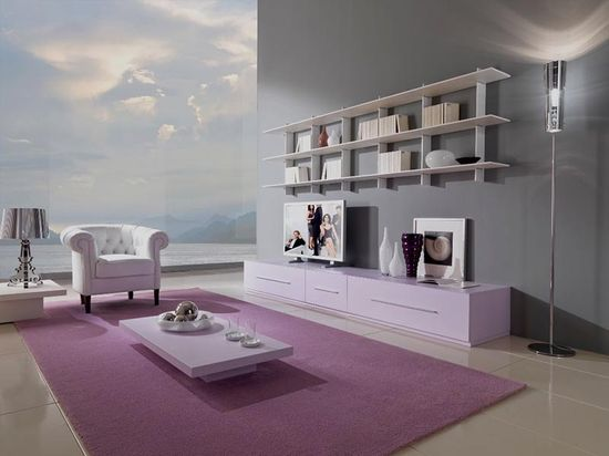 minimalist living room with pink Best performance in Minimalist Home Design Ideas