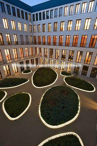 L-Bank courtyard Karlsruhe