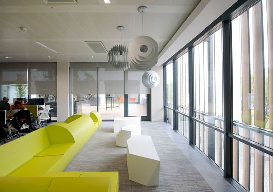Microsoft's Lisbon Office Headquarters Architecture & Interior Design