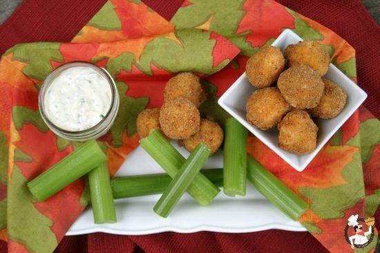 Buffalo Chicken Bites Recipe on PocketChangeGourm...