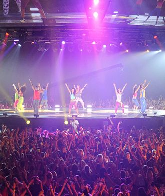 Zumba fitness concert...so much fun!