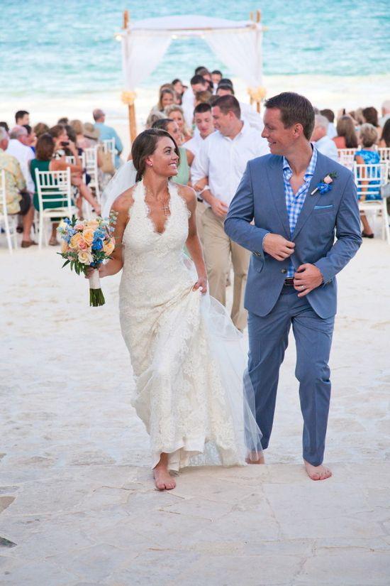 Wedding Dress: Justina McCaffrey
