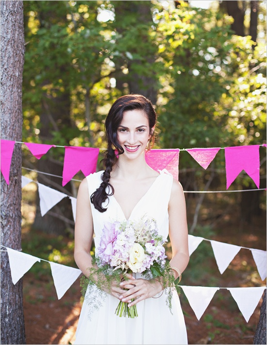 ombre wedding details