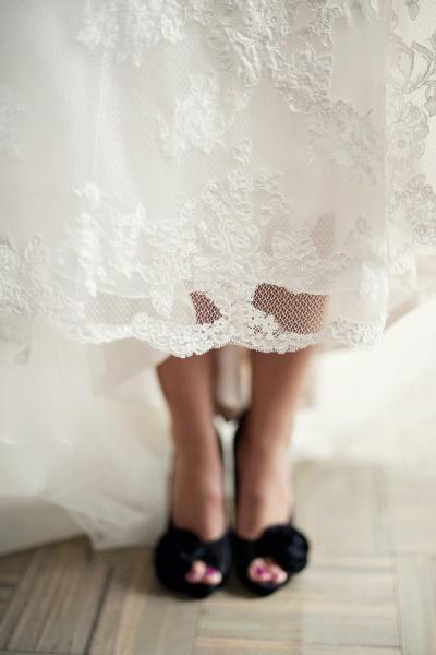 Loving these black peep toes. Photography by @Justin Marantz