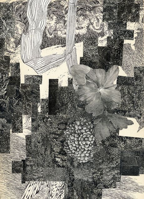 Beautiful vintage style collage by Valerie Roybal