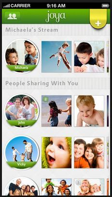 Joya - A brilliant iOS app that lets you share videos of your kids safely with friends and family. Finally!