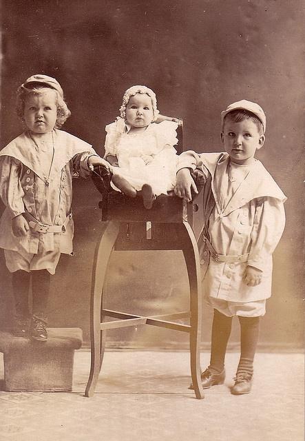 3 cute kids
