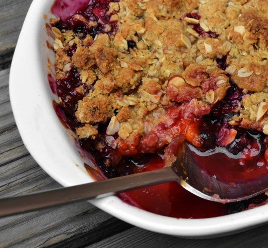 The Best Way to Prevent Soggy Fruit Crisp