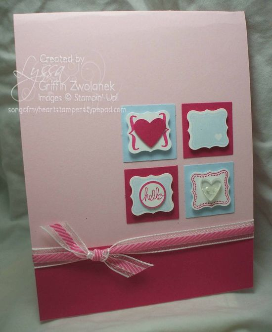 sale-a-bration free punch and matching stamp set