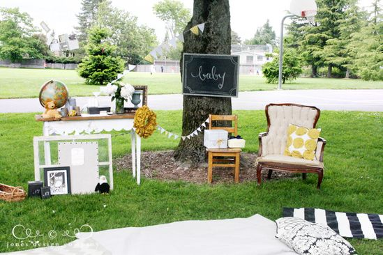 picnic in the park {baby shower}