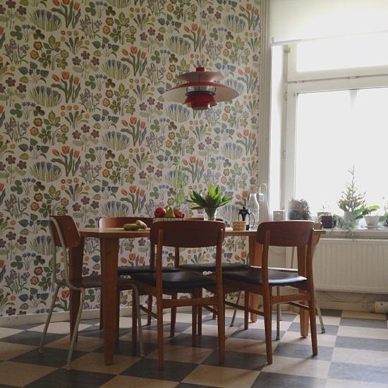 wallpaper,wooden painted floor,wooden furniture