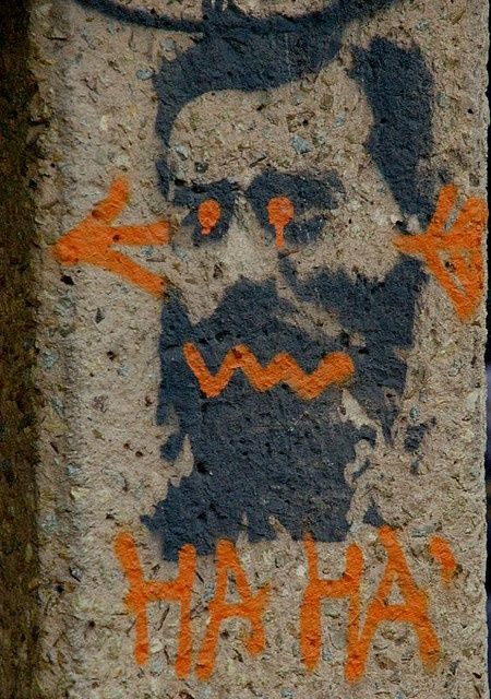 Melbourne street Art HA HA