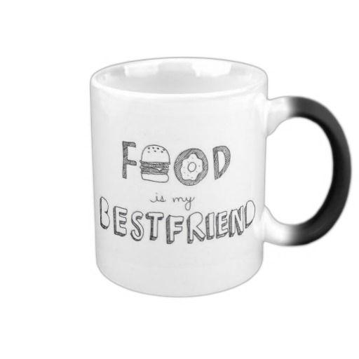 Food is my best friend Mug