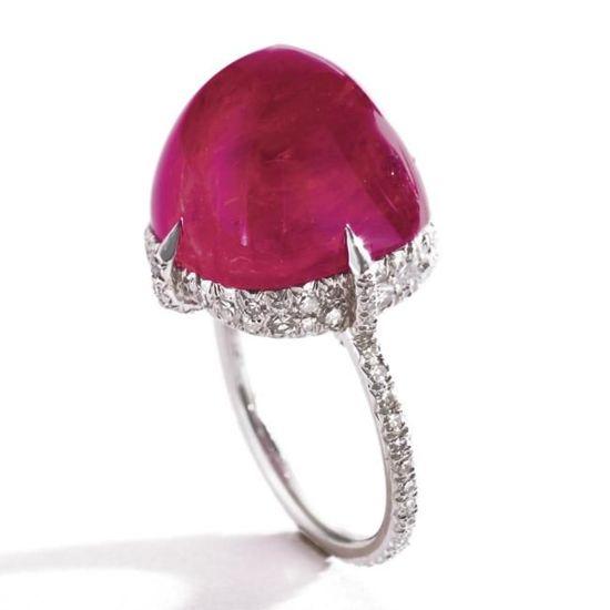 Ruby and Diamond JAR ring.