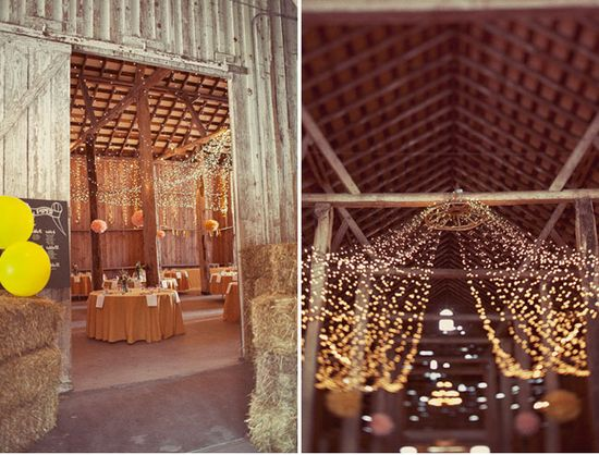 Barn wedding :)