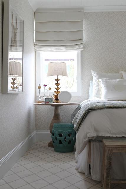 Beautiful, serene bedroom O & D Interiors