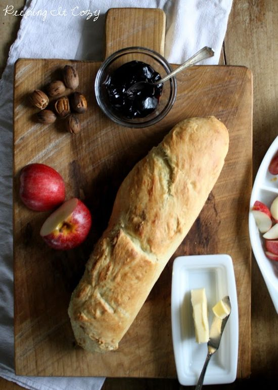 A Handmade Bread Board