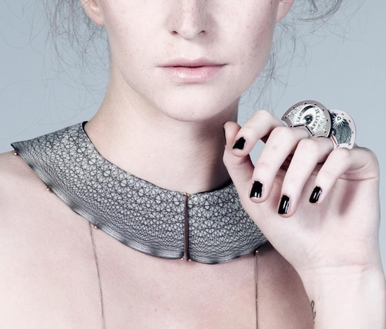 Chiara Scarpitti - collars - new work