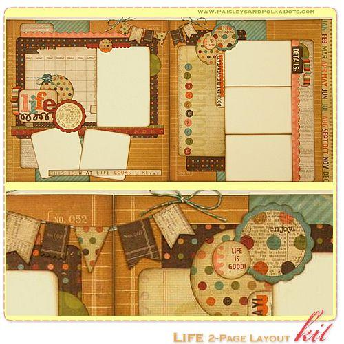 #scrapbook #layout