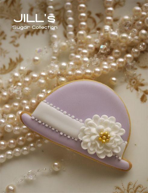 Fancy Hat Cookies #baking #cookies