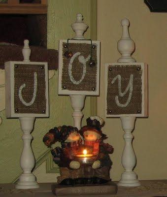 DIY Gift - JOY Plaques